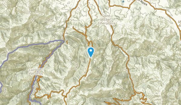Uhart-Cize, Pyrénées-Atlantiques Map