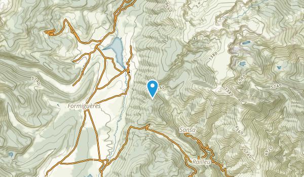 Real, Pyrénées-Orientales Map