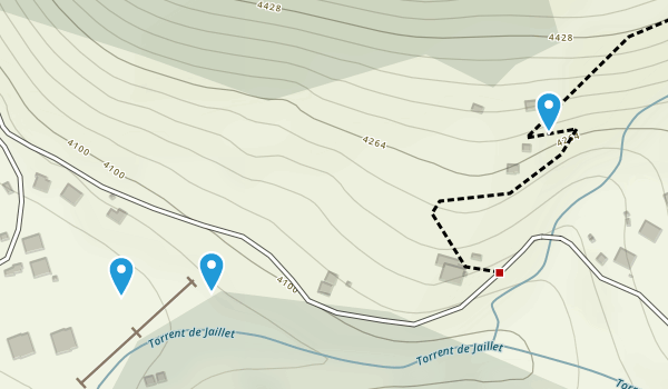 La Crépinière, Savoie Map