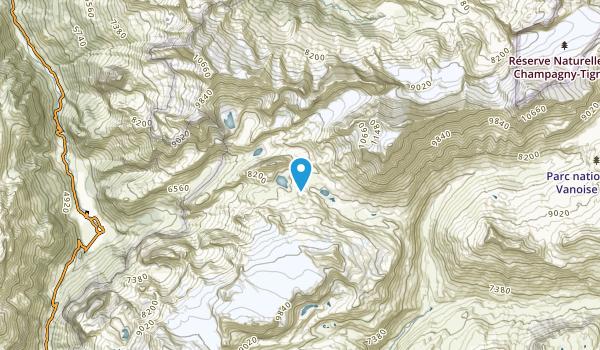 Pralognan-La-Vanoise, Savoie Map