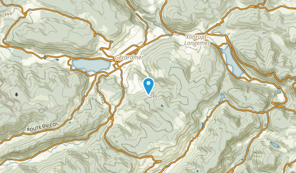 Gérardmer, Vosges Map
