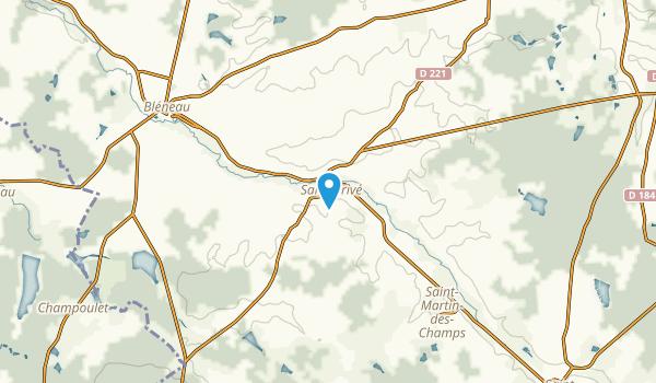 Saint-Privé, Yonne Map