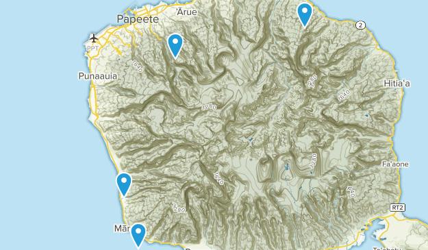Best Trails near Tahiti, Tahiti French Polynesia   AllTrails