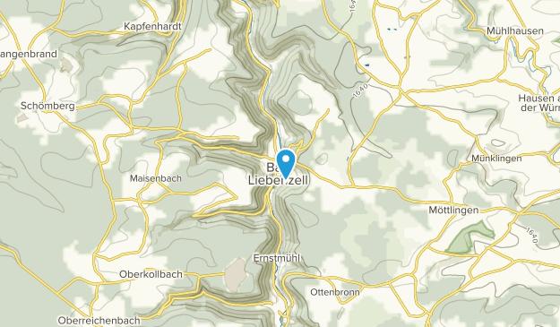 Bad Liebenzell, Baden-Württemberg Map
