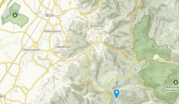 Bühl, Baden-Württemberg Map