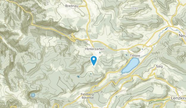 Hinterzarten, Baden-Württemberg Map