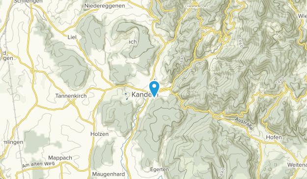 Kandern, Baden-Württemberg Map