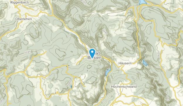 St. Blasien, Baden-Württemberg Map