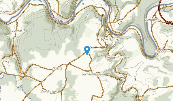 Wertheim, Baden-Württemberg Map