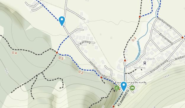 Hammersbach, Bayern Map
