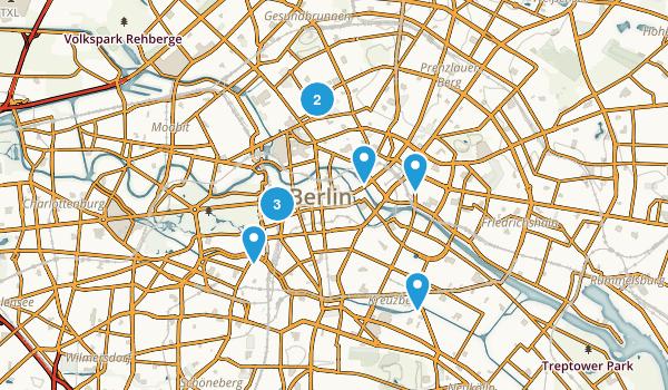 Friedrichswerder, Berlin Map