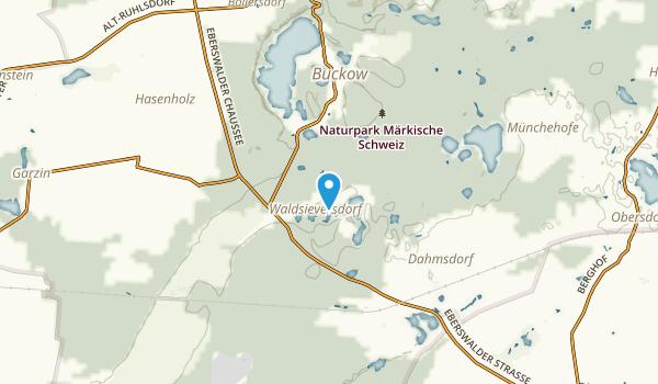 Waldsieversdorf, Brandenburg Map