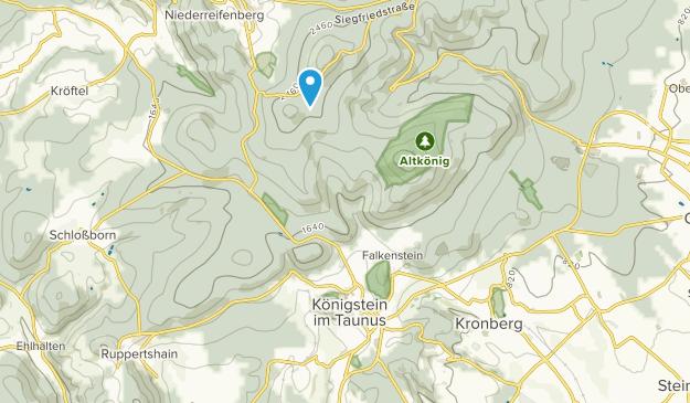 Königstein im Taunus, Hessen Map