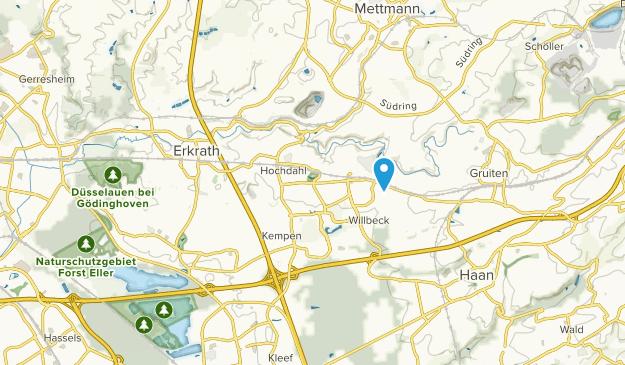 Erkrath, Nordrhein-Westfalen Map