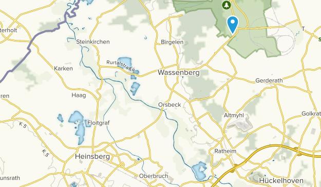 Heinsberg, Nordrhein-Westfalen Map