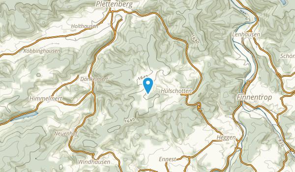 Hülschotten, Nordrhein-Westfalen Map