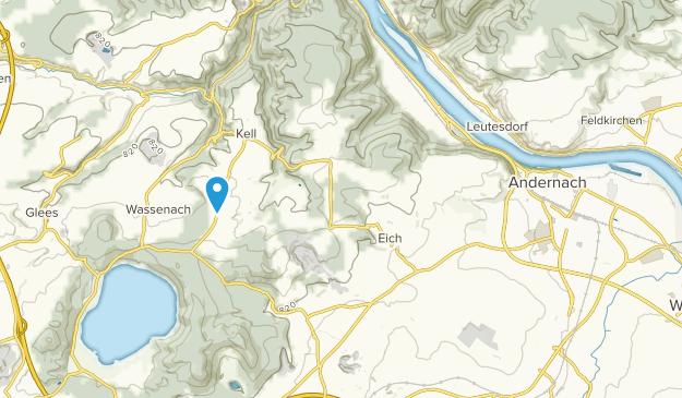 Andernach, Rheinland-Pfalz Map