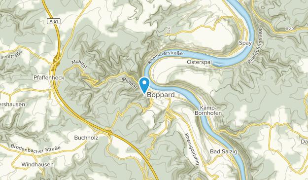 Boppard, Rheinland-Pfalz Map