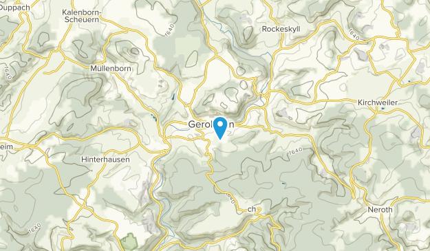 Gerolstein, Rheinland-Pfalz Map