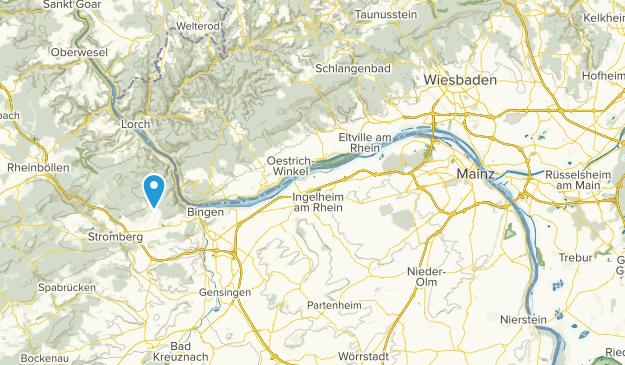 Mainz-Bingen, Rheinland-Pfalz Map