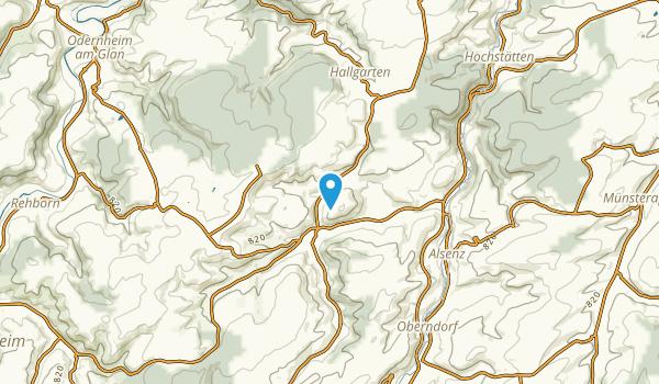 Obermoschel, Rheinland-Pfalz Map