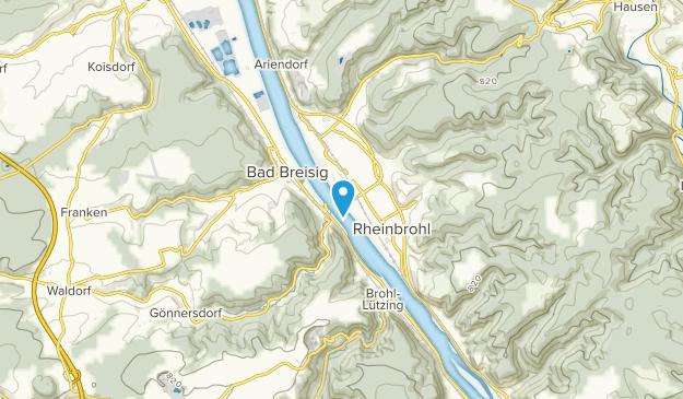 Rheineck, Rheinland-Pfalz Map