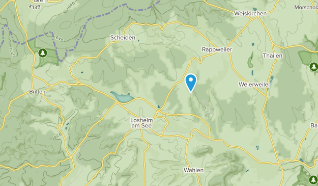 Losheim am See, Saarland Map