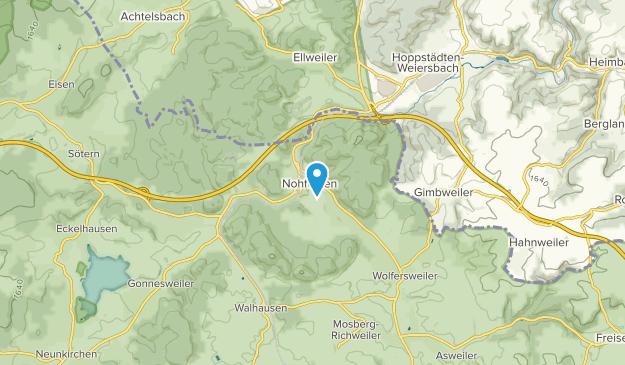 Nohfelden, Saarland Map