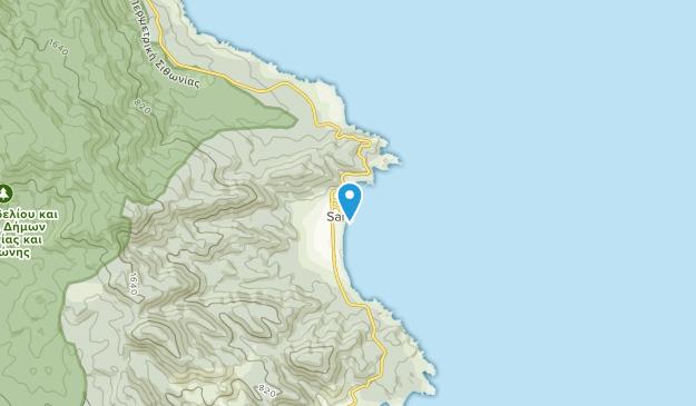 Sarti, Crete Map