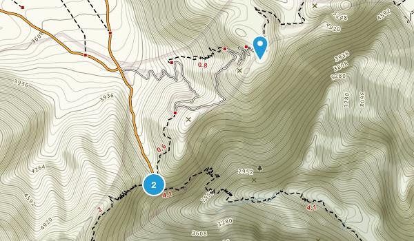 Samariá, Kefalonia Map