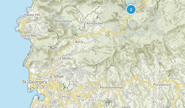 Saint Andrew, Saint George Map