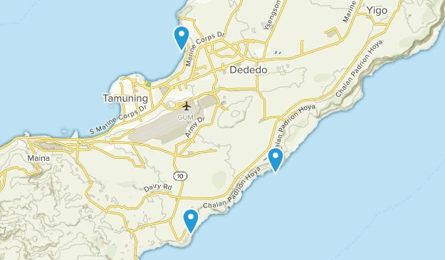 Barrigada, Guam Map