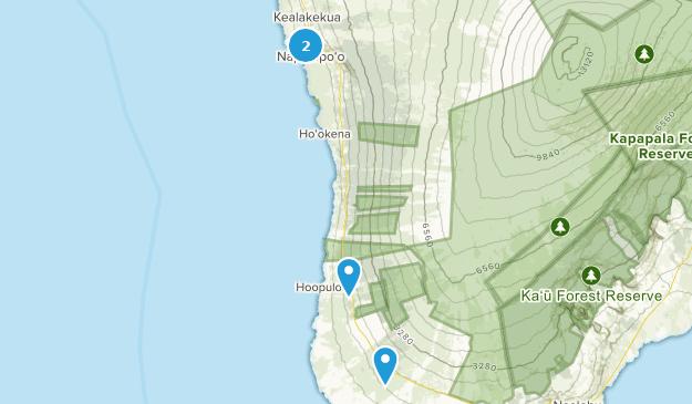 Best Trails Near Captain Cook Hawaii Hawaii Alltrails