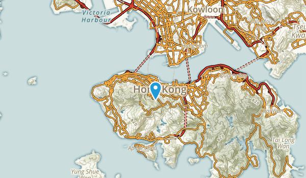 Chung Wan, Hong Kong Map