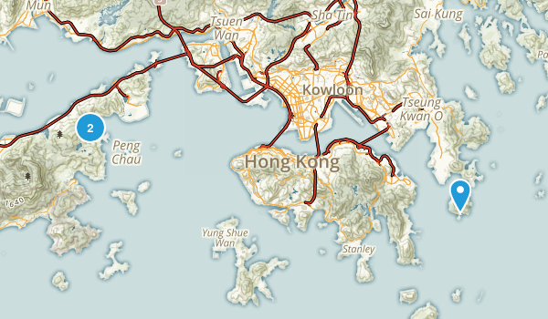 Hong Kong, Hong Kong Map