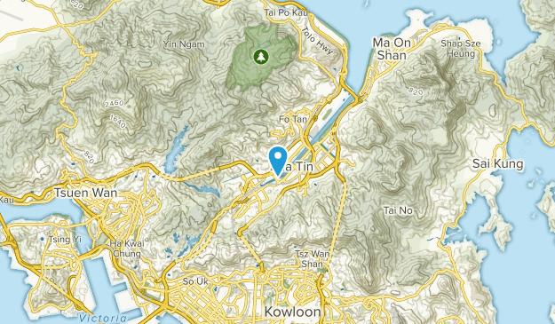 Lek Yuen, Hong Kong Map