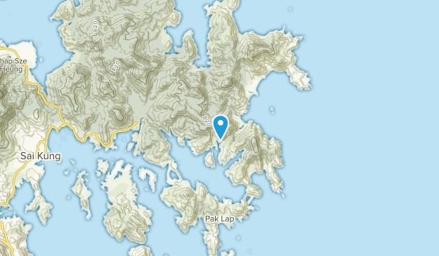 Sai Kung Islands, Hong Kong Map