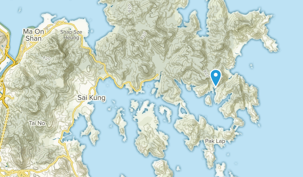 Sai Kung Islands, Hong Kong Map