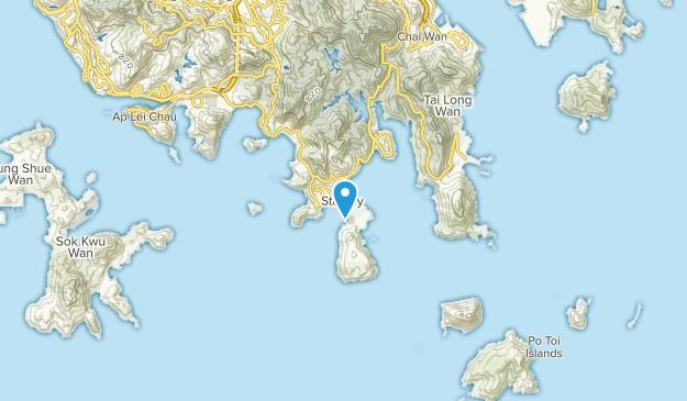 Stanley & Shek O, Hong Kong Map