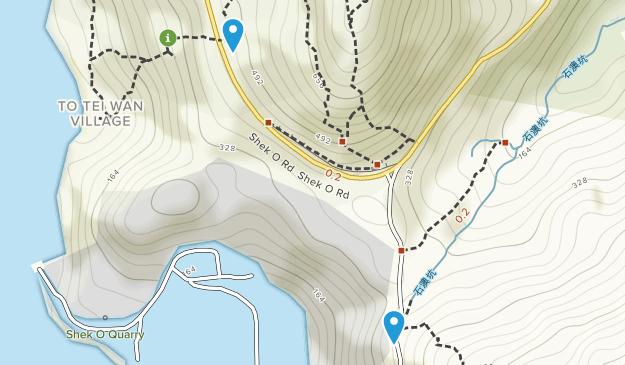 Tai Long Wan, Sha Tin Map