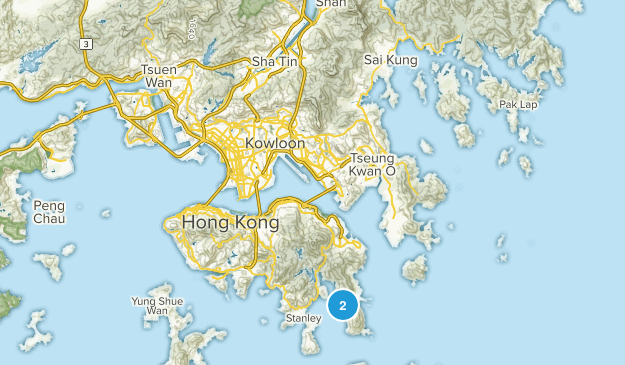Tai Long Wan, Sha Tin Map