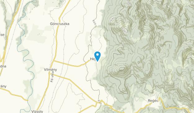 Hejce, Borsod-Abaúj-Zemplén Map