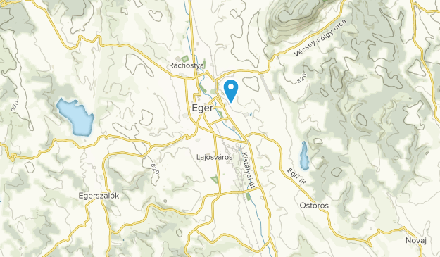 Eger, Heves Map