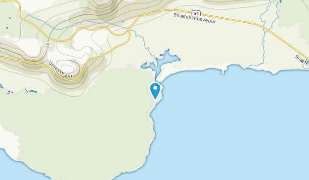 Olafsvik, Southern Map