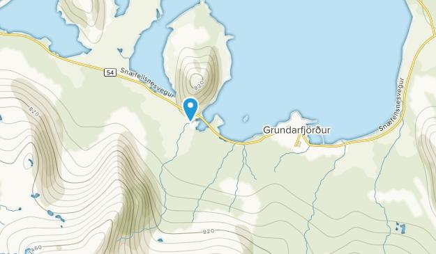 Grundarfjörður, Vesturland Map