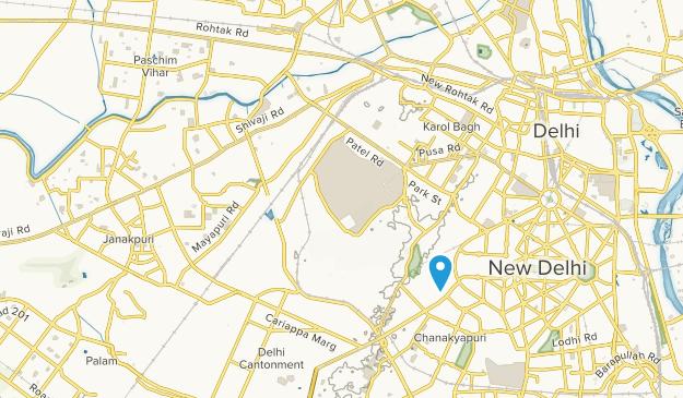 Northern Railway Colony, Delhi Map