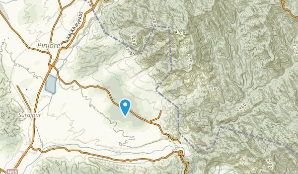Gawāhi, Himachal Pradesh Map