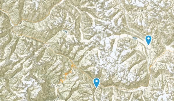 Kyelang, Himachal Pradesh Map