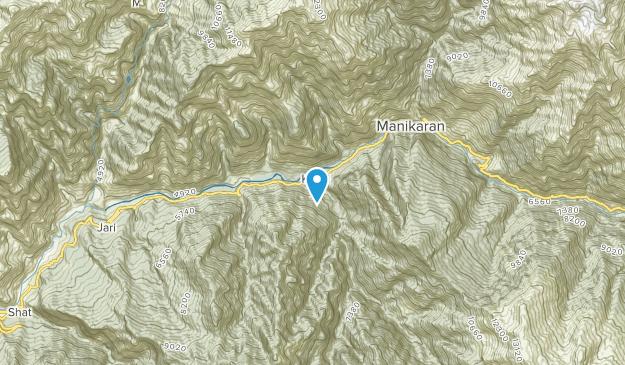 Manikarn, Himachal Pradesh Map