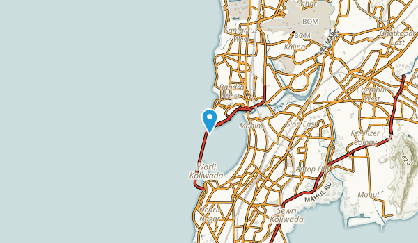 Bandra, Maharashtra Map